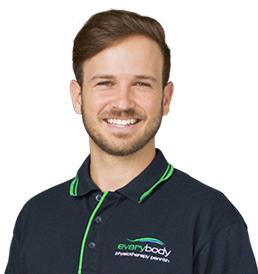 Physiotherapist Jordan D'ermilio