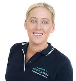 Physiotherapist Olivia Powell