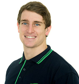 Physiotherapist Rhys Alchin